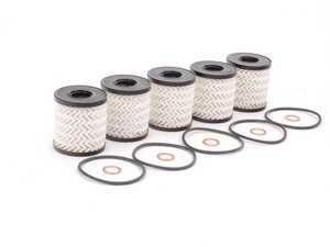 ES#2594054 - 114276224465PKKT - Oil Filter Kit With O-Ring - 5 Pack - Multi-pack oil filter kits to ensure your oil stays contaminant free : Gen 2 MINIs - Genuine MINI - MINI