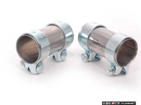 ES#2598287 - 357253141AKT5 - Cat-Back Exhaust Installation Kit - Includes both clamps to connect your cat-back exhaust system - HJS - Audi