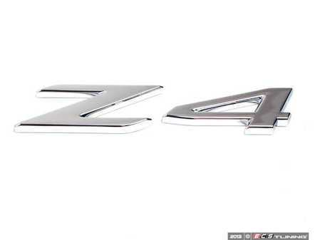 ES#79279 - 51147114122 - Z4 Trunk Emblem - Have a missing trunk badge? - Genuine BMW - BMW