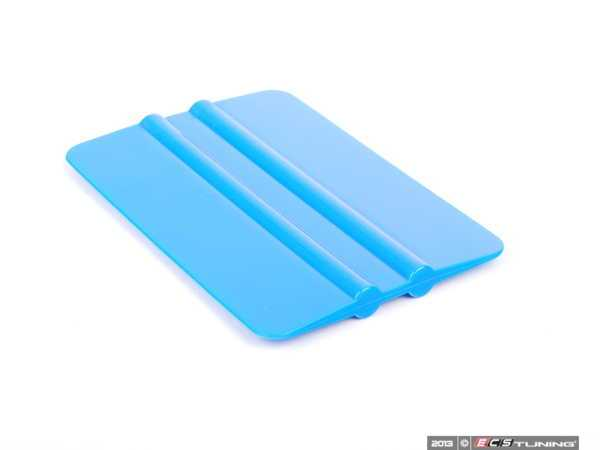 """ES#2608017 - GT080 - 4"""" Soft Blue Squeegee Card - Allows for the application of even pressure - 3M -"""