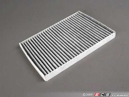 ES#1831894 - 1J0819644A - Charcoal Lined Cabin Filter / Fresh Air Filter OEM# 1J0819644A - The activated charcoal filters odor from reaching the cabin - Bosch - Audi Volkswagen