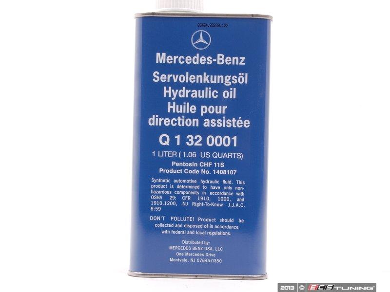 Genuine mercedes benz q1320001 central hydraulic for Mercedes benz hydraulic fluid
