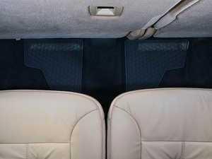 ES#1827996 - Q6680689 - All-Season Floor Mats - Set Of Two - Black Color - Genuine Mercedes Benz - Mercedes Benz