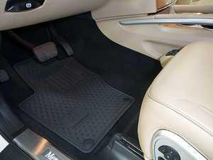 ES#1827993 - Q6680686 - All-Season Floor Mats - Set Of Four - Black Color - Genuine Mercedes Benz - Mercedes Benz