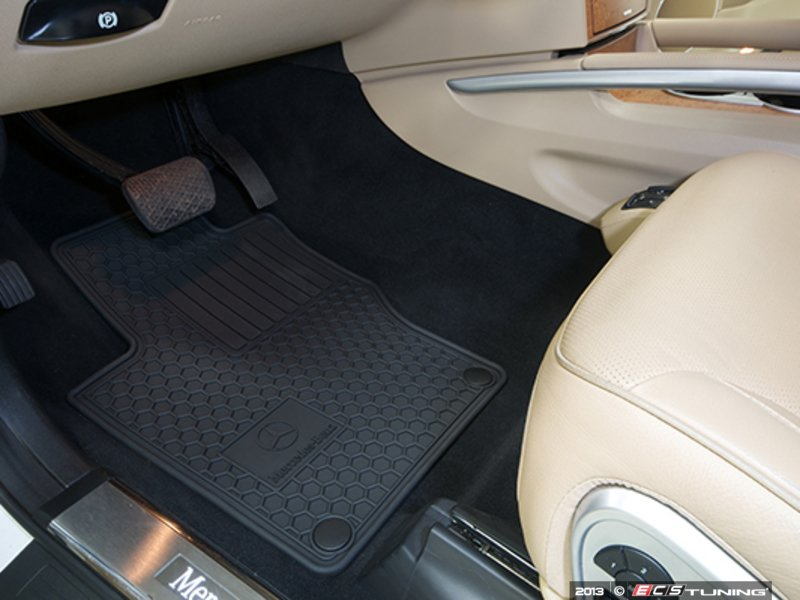 Genuine mercedes benz q6680686 all season floor mats for Mercedes benz e350 floor mats