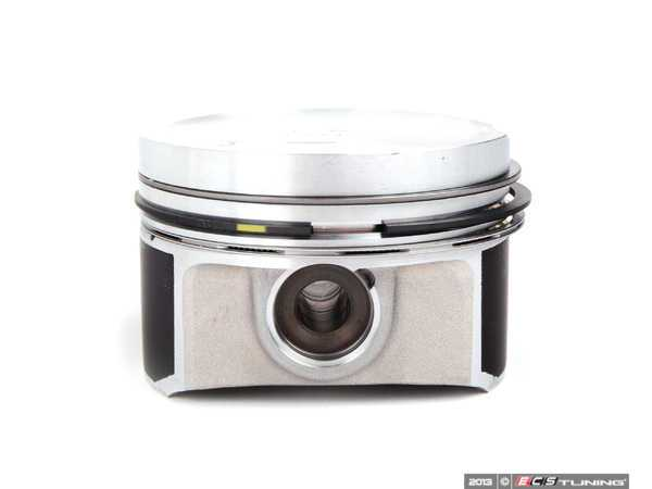 ES#279254 - 06A107065J - Piston Assembly - Priced Each - Includes piston rings, wrist pin, and circlips - Genuine Volkswagen Audi - Audi Volkswagen