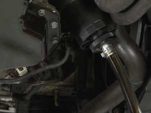 ES#8616 - 000930SCH01A - Oil Filter Drain Tool - Your no-mess oil drain solution! - Schwaben - Audi Volkswagen