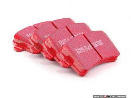 ES#2070769 - DP31988C - Rear RedStuff Performance Brake Pad Set - High performance street pad, featuring Kevlar technology - EBC - Audi