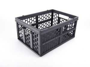 ES#1821126 - 66470995 - Collapsible Shopping Crate - Anthracite Color - Genuine Mercedes Benz - Mercedes Benz