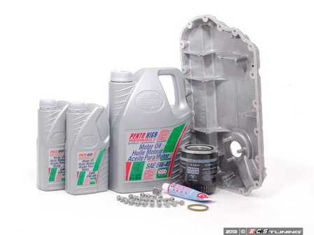 ES#2602423 - 078103604AAKT - Oil Pan Replacement Kit - Everything required to replace your leaking pan, including the oil change - Assembled By ECS - Audi