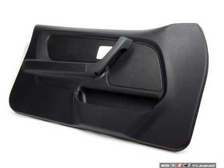 ES#101655 - 51418186547 - Door Panel - Left - Schwarz/Black replacement door trim - Genuine BMW - BMW