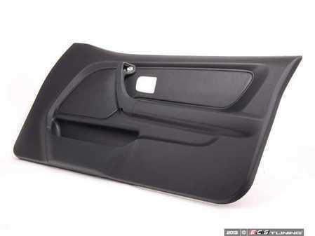 ES#101656 - 51418186548 - Door Panel - Right - Schwarz/Black replacement door trim - Genuine BMW - BMW