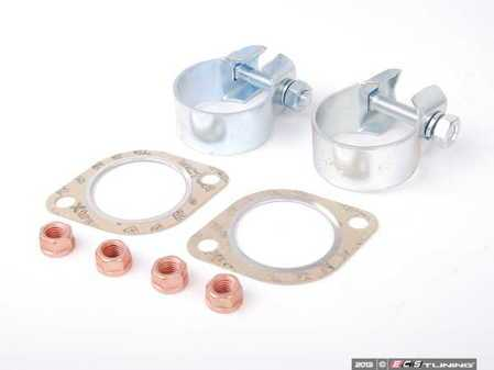ES#2594037 - 18107502346KT - Center Exhaust Section Installation Kit - Includes mounting hardware and gaskets. - Assembled By ECS - BMW