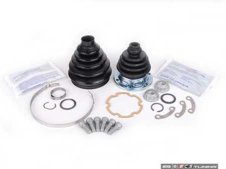 ES#2581592 - 1H0498203AKTA -  Front Inner & Outer CV Joint Refresh Kit - Stage 2 - Why risk tearing the same axle out twice? - Assembled By ECS - Volkswagen
