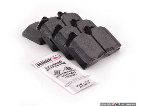 ES#1305648 - HB170F.650 - HPS Compound Performance Brake Pad Set - Daily driver brake pad upgrade - Hawk - Porsche