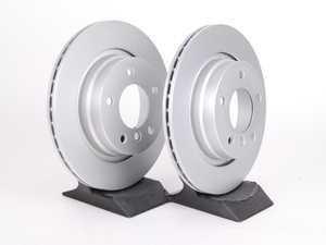 ES#2593139 - 34216855154KT4 - Rear Brake Rotors - Pair (294x19) - Featuring a protective Meyle Platinum coating. - Meyle - BMW