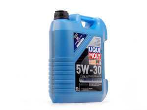 ES#261601 - 2039 - Longtime High Tech Engine Oil (5w-30) - 5 Liter - A synthetic oil designed with overall fuel economy in mind, while still being able to handle long drain requirements - Liqui-Moly - Audi BMW Volkswagen MINI