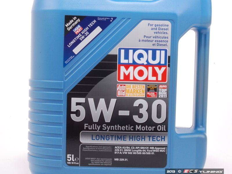 liqui moly 2039 longtime high tech engine oil 5w 30. Black Bedroom Furniture Sets. Home Design Ideas