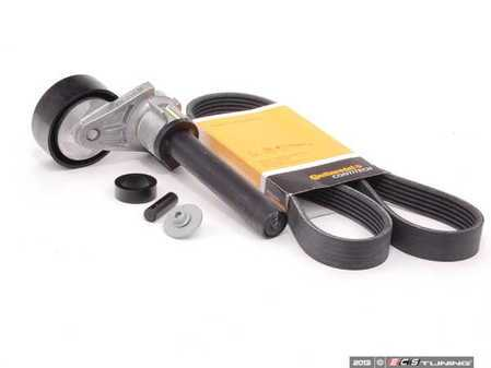 ES#2586329 - 06J903133A1KT - Accessory Belt Kit - Keep your drive belt tight with a new belt, tensioner, and hardware - Assembled By ECS - Audi Volkswagen