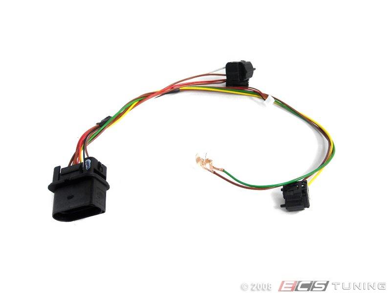 genuine volkswagen audi 3b0971671 headlight wiring harness es 340239 3b0971671 headlight wiring harness repair broken connections and wiring in