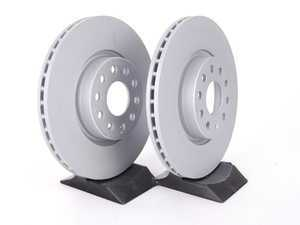 ES#6212 - 1K0615301AAKT9 -  Front Brake Rotors - Pair (312x25) - Featuring Z-Anti Corrosion coating - Zimmermann - Audi Volkswagen