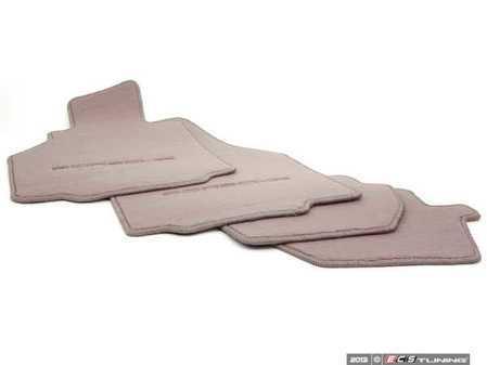 ES#1354540 - 00004480084C50 - Set Of Floor Mats - Graphite Grey - Beautiful OEM Graphite Grey floor mat set - Genuine Porsche - Porsche