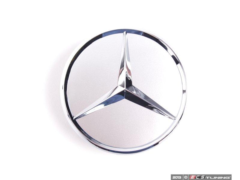 Genuine mercedes benz 66470206 chrome mercedes star for Mercedes benz center cap