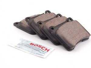 ES#2561767 - 0044205120 - Front Brake Pad Set - Does not include brake pad wear sensors - Bosch - Mercedes Benz