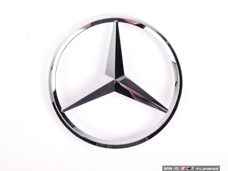 Genuine mercedes benz 2128170016 star emblem for Mercedes benz star emblem