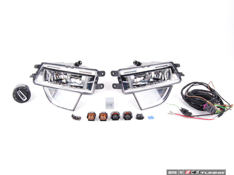 ECS-Tuning Volkswagen Pat B7 NMS Fog Light retrofit kit ...