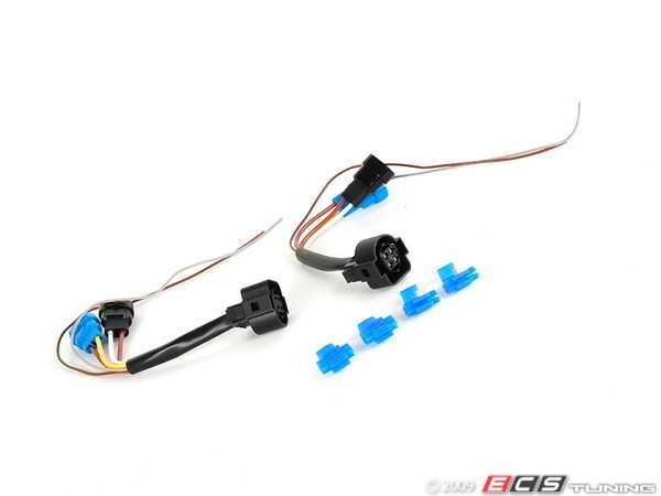 ecs - hxwrv3h-tx - mk3 headlight wiring harness