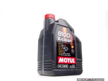 ES#1928404 - 3374650233888 - 8100 X-Clean C3 Engine Oil (5w-40) - 5 Liter - 100% Synthetic engine oil specially designed around the demands of direct fuel injection engines. - Motul - Audi BMW Volkswagen