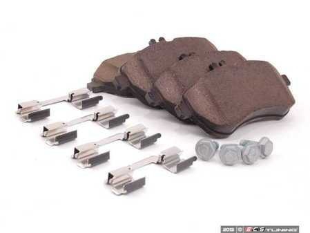 ES#2760555 - 0074205720 - Front Brake Pad Set - Includes shims and all hardware needed for installation - Genuine Mercedes Benz - Mercedes Benz