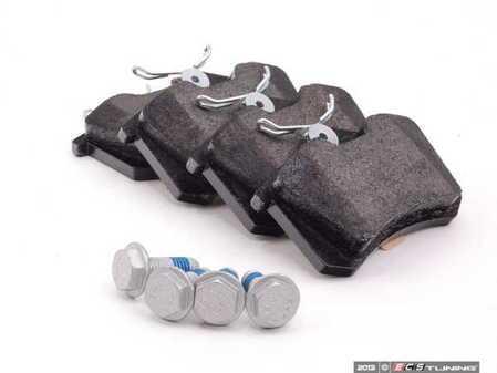 ES#396 - MDB1377D - Rear Box Brake Pad Set - Mildly upgraded composite pad - Mintex - Audi Volkswagen
