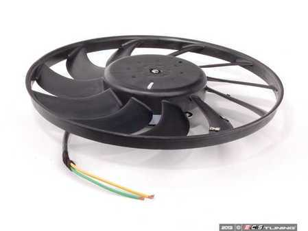 ES#2598439 - 8E0959455K - Electric Cooling Fan - Left (400mm) - Keep your cooling system operating properly - Febi - Audi