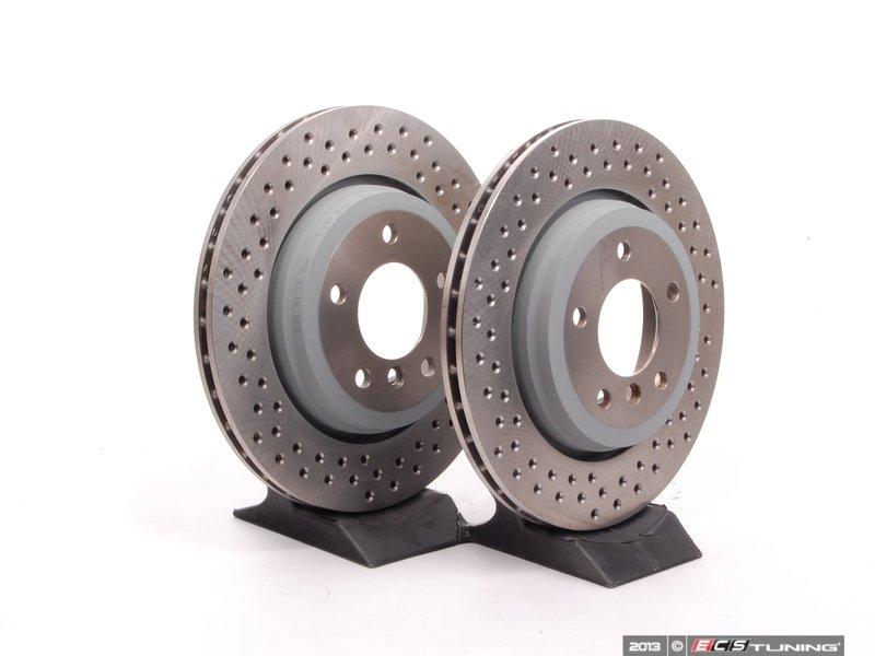 genuine bmw 34212282873kt rear bmw performance brake. Black Bedroom Furniture Sets. Home Design Ideas
