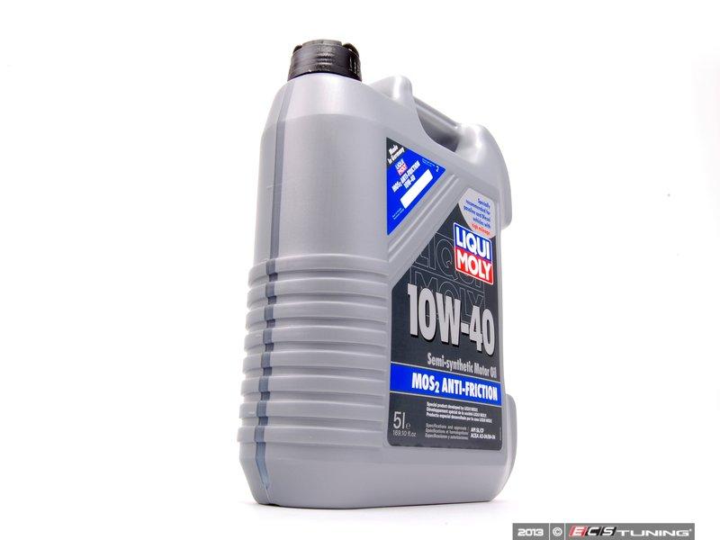 Liqui Moly 2043 10w40 M0s2 Anti Friction Motor Oil 5