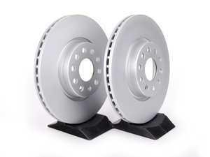 ES#2539242 - 1K0615301AA - Front Brake Rotors - Pair (312x25) - Featuring a protective Meyle Platinum coating. - Meyle - Audi