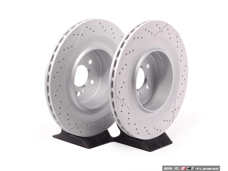 Genuine Mercedes Benz 2124230412kt1 Rear Brake Rotors