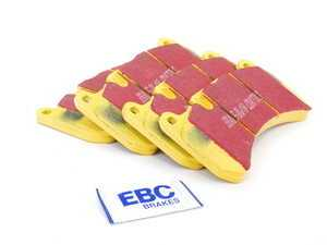 ES#520893 - DP41591R - Front Yellowstuff Performance Brake Pad Set - A race-quailty pad that can be used at the track and back home again - EBC - Mercedes Benz
