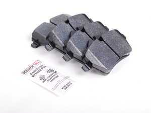 ES#1306389 - HB560Z.677 - Brake Pad Set Perf. Ceramic Compound - Upgrade to Hawk performance pads - Hawk - MINI