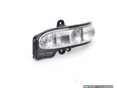 ES#1734159 - 2038201321 - Turn Signal Assembly - Located in the left side-view mirror housing - Genuine Mercedes Benz - Mercedes Benz