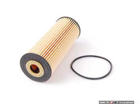 ES#2587484 - 1041800109 - Engine Oil Filter - Priced Each - Includes all needed o-rings for installation - Hengst - Mercedes Benz