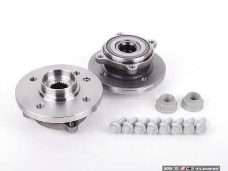 ES#2594144 - 31226756889KT3 - Front Wheel Bearing Kit - Complete front wheel bearings replacement kit - Assembled By ECS - MINI