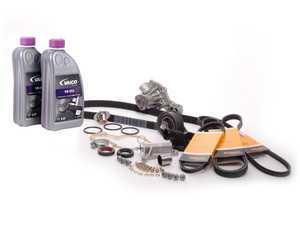 ES#5633 - 058198479 V2waf - Timing Belt Kit - Ultimate Plus - Our most complete timing belt kit with coolant - Assembled By ECS - Audi Volkswagen