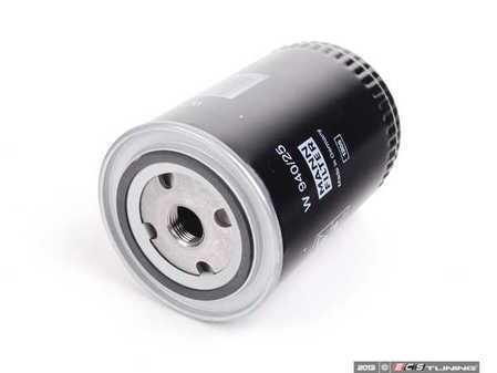 ES#2342 - W940.25 - Oil Filter - Priced Each - Larger capacity oil filter for better efficiency - Mann - Audi Volkswagen