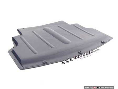 ES#2627490 - 51717012723KT - Belly Pan With Hardware - Protect the lower portion of your engine from road debris - Assembled By ECS - BMW