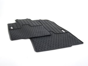 """ES#2530913 - 51472243920 - Cooper """"S"""" Logo Front Rubber Factory Floor Mats Set - Priced As Set - Replace or upgrade to factory MINI mats - Genuine MINI - MINI"""