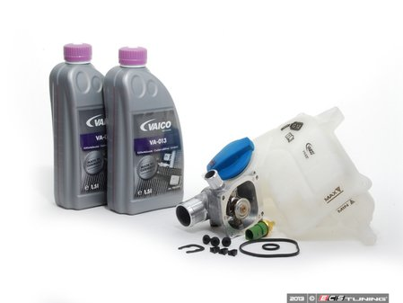 ES#2593820 - 079121111JKT3 - Cooling System Refresh Kit - Service your critical cooling system components with this complete kit. - Assembled By ECS - Audi