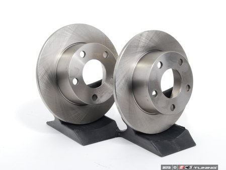 ES#1549 - 4A0615601AKT3 - Rear Brake Rotors - Pair (245x10) - Restore the stopping power in your vehicle - Balo - Audi Volkswagen